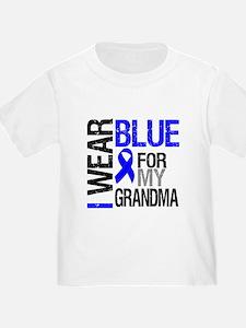 I Wear Blue Grandma T