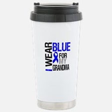 I Wear Blue Grandma Travel Mug