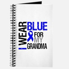 I Wear Blue Grandma Journal