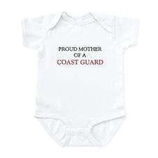 Proud Mother Of A COAST GUARD Infant Bodysuit