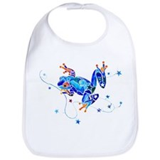 Crazy Tree Frogs Bib