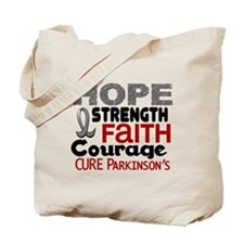 HOPE Parkinson's Disease 3 Tote Bag