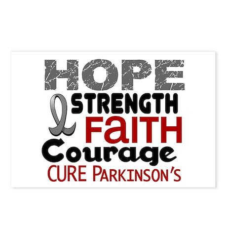 HOPE Parkinson's Disease 3 Postcards (Package of 8