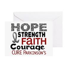 HOPE Parkinson's Disease 3 Greeting Card