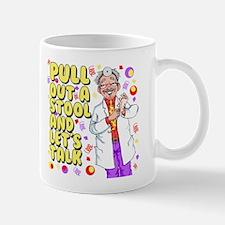 Pull out a stool Mug