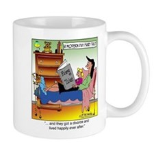 Divorce & Live Happily Ever After Small Mug
