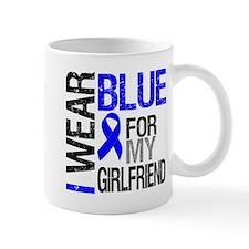 I Wear Blue Girlfriend Mug
