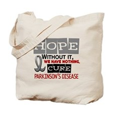 HOPE Parkinson's Disease 2 Tote Bag