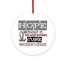 HOPE Parkinson's Disease 2 Ornament (Round)