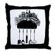 Kitchen Crest Throw Pillow