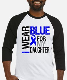 I Wear Blue Daughter Baseball Jersey