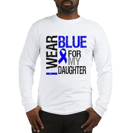 I Wear Blue Daughter Long Sleeve T-Shirt