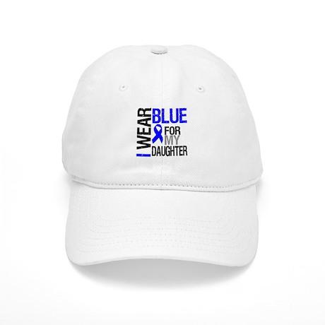 I Wear Blue Daughter Cap
