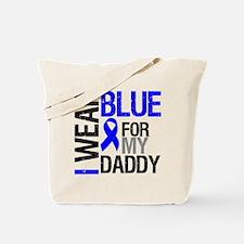 I Wear Blue Daddy Tote Bag