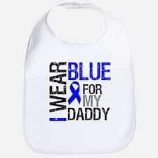 I Wear Blue Daddy Bib