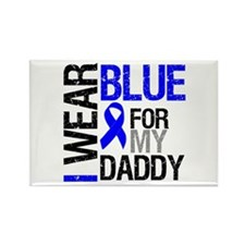I Wear Blue Daddy Rectangle Magnet