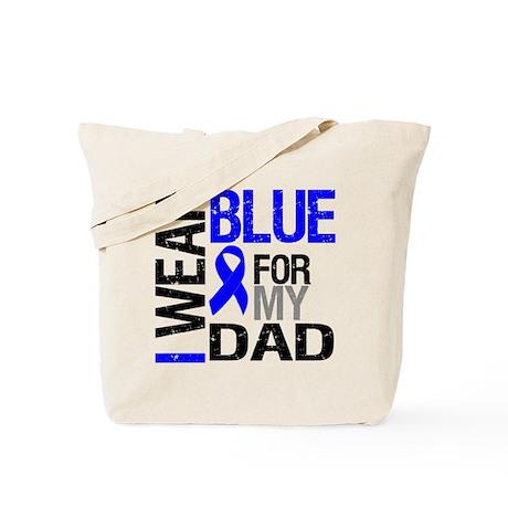 I Wear Blue Dad Tote Bag