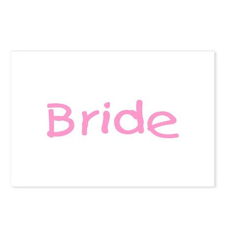 Bride (Pink) Postcards (Package of 8)