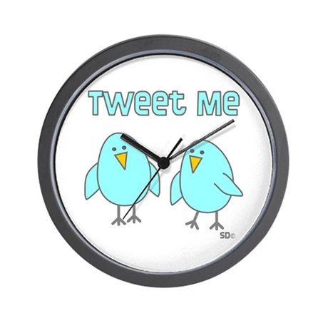 Tweet Me Wall Clock