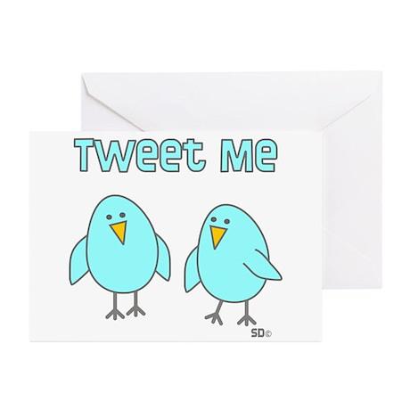 Tweet Me Greeting Cards (Pk of 10)