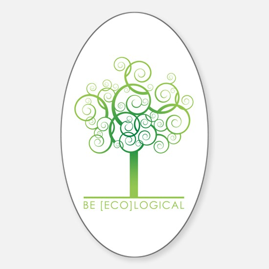 Be [Eco]Logical - Tree Oval Decal