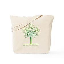 Be [Eco]Logical - Tree Tote Bag