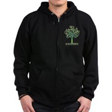 Be [Eco]Logical - Tree Zip Hoodie
