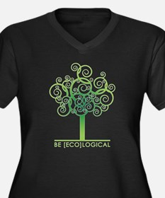 Be [Eco]Logical - Tree Women's Plus Size V-Neck Da