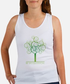 Be [Eco]Logical - Tree Women's Tank Top