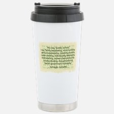 Tomayto Tomahto Stainless Steel Travel Mug