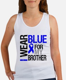 I Wear Blue Brother Women's Tank Top