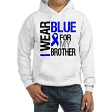 I Wear Blue Brother Hoodie