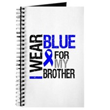 I Wear Blue Brother Journal