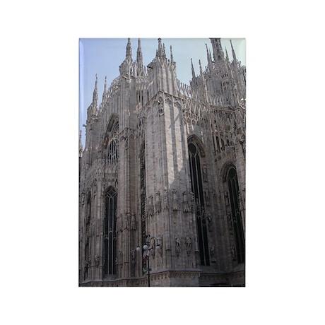 Milan, Duomo Rectangle Magnet