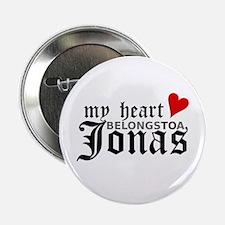 """My Heart Belongs to a Jonas 2.25"""" Button"""