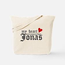 My Heart Belongs to a Jonas Tote Bag