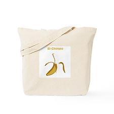 El Chimpo Tote Bag