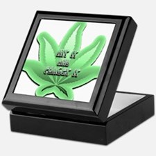 Funny Herbal smoke Keepsake Box
