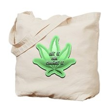 Funny Herbal smoke Tote Bag