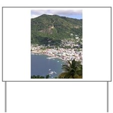 St. Lucia Items Yard Sign