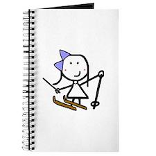 Girl & Skiing Journal