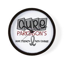 CURE Parkinson's Disease 1 Wall Clock