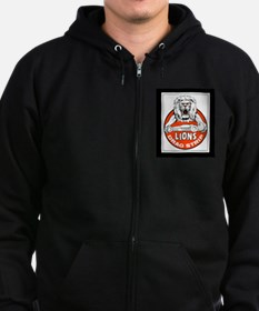 Cool So ca drag strips Zip Hoodie