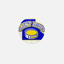St. Louis Hockey Mini Button