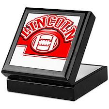 Lincoln Football Keepsake Box
