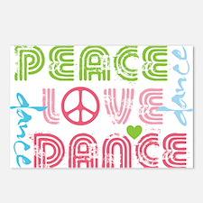 Unique Dance Postcards (Package of 8)