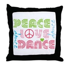 Unique Dancer Throw Pillow