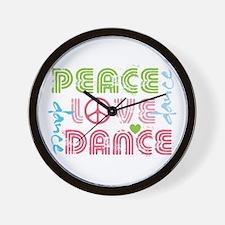 Unique Jazz dance Wall Clock