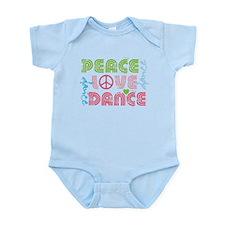 Funny I love hip hop Infant Bodysuit