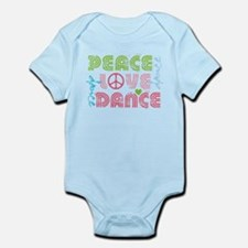 Cute Jazz dance Infant Bodysuit